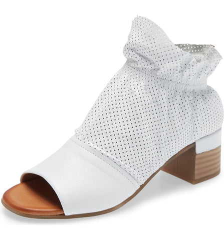 DEIDRE SANDAL - WHITE - Pre-order some sizes to ship mid-April