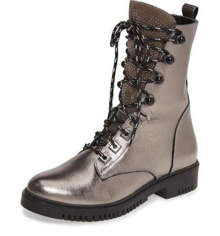 MANNER Boot in Pewter - PRESALE Ships Mid October