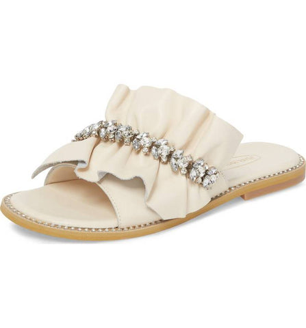 Tiana Leather Slide