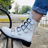 KNIGHT Boot in White