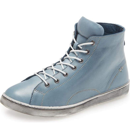 ALESE Hi-Top Sneaker in Jeans