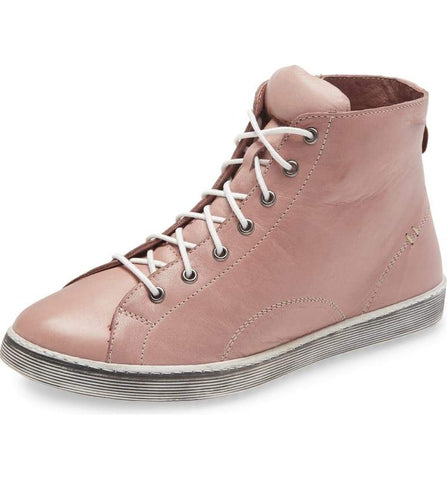 ALESE Hi-Top Sneaker in Rose