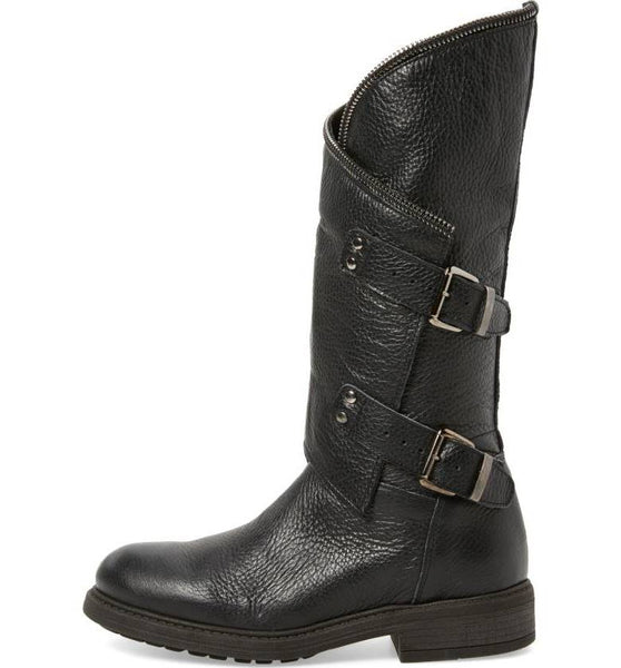 BRAY Asymmetrical Zip Boot