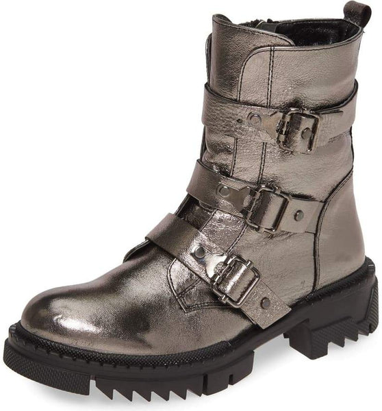 TRAIN Boot in Pewter