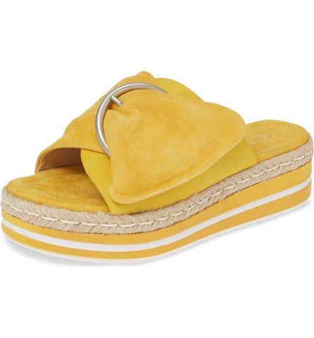 WEFT in Yellow Suede
