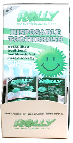 Special Price - Rolly Brush Single Sachets - Box of 100