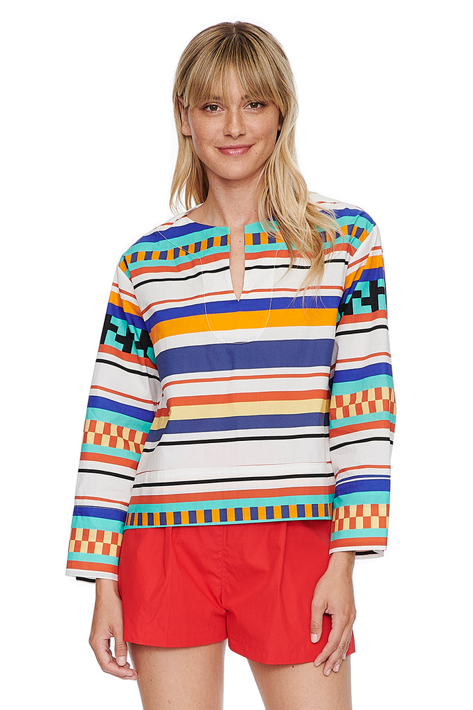 Aztec Pieced Tunic