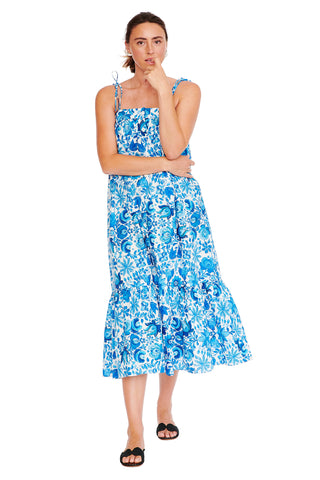Mexican Floral Easy Cami Dress