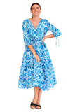 Mexican Floral Summer Dress 2 left
