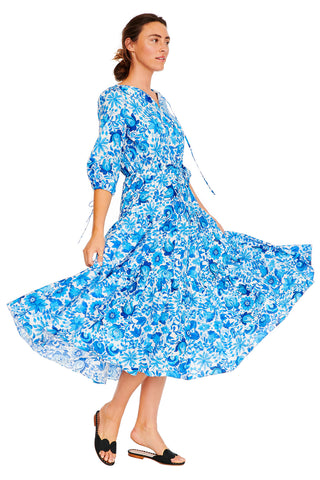 Mexican Floral Summer Dress