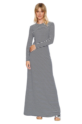 Navy Erika Knit Dress 1 left