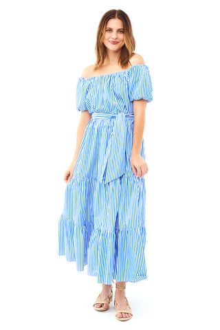 Tiered Peasant Dress 2 left