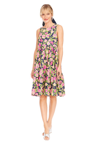 Floral Peasant Dress 2 left