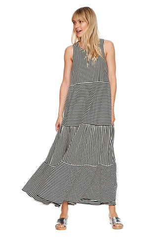 Georgia Sleeveless Peasant Dress