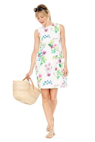 Floral Shift Dress 2 left
