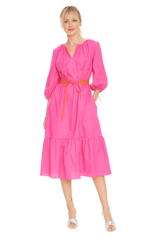 Hot Pink Garden Dress 1 left