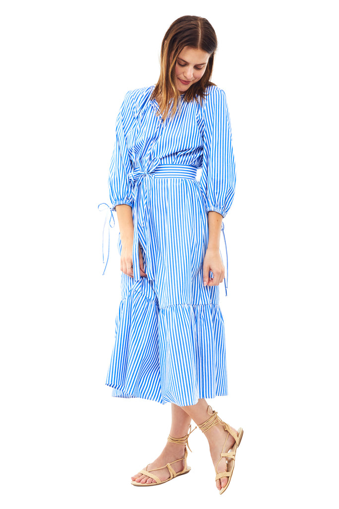 Stripe Garden Dress