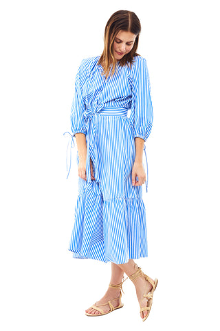 Stripe Garden Dress 2 left