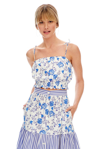 Chinoiserie Cropped Cami