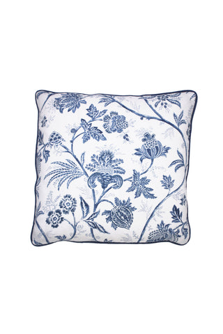 Cobalt Chinoiserie Pillow 2 left