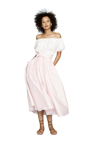 Pink Peasant Skirt 2 left