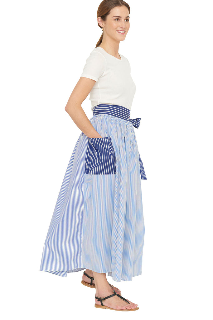 Tie Sash Skirt 1 Left