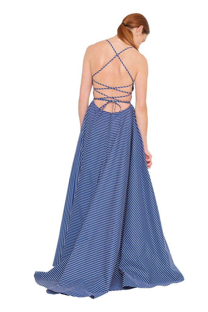 Criss Cross Gown 1 left