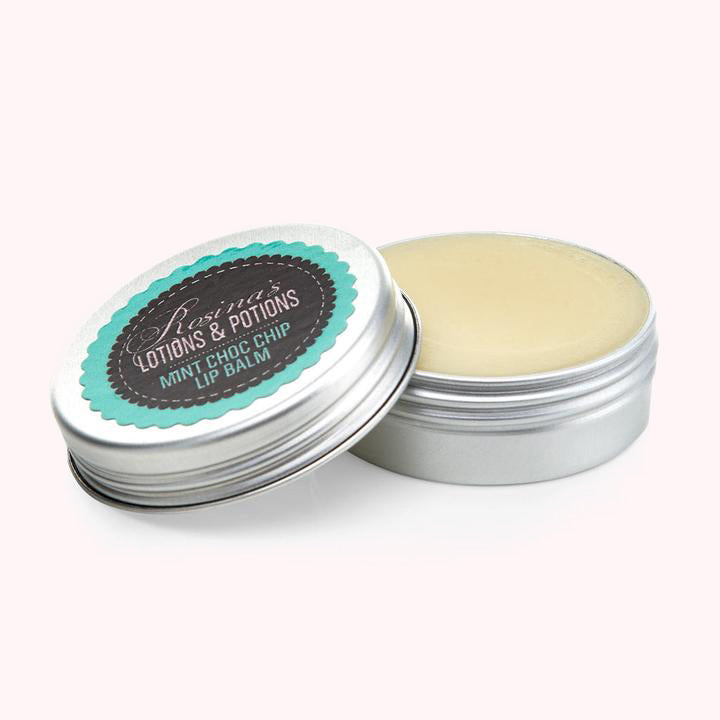 Natural Mint Choc Chip Lip Balm