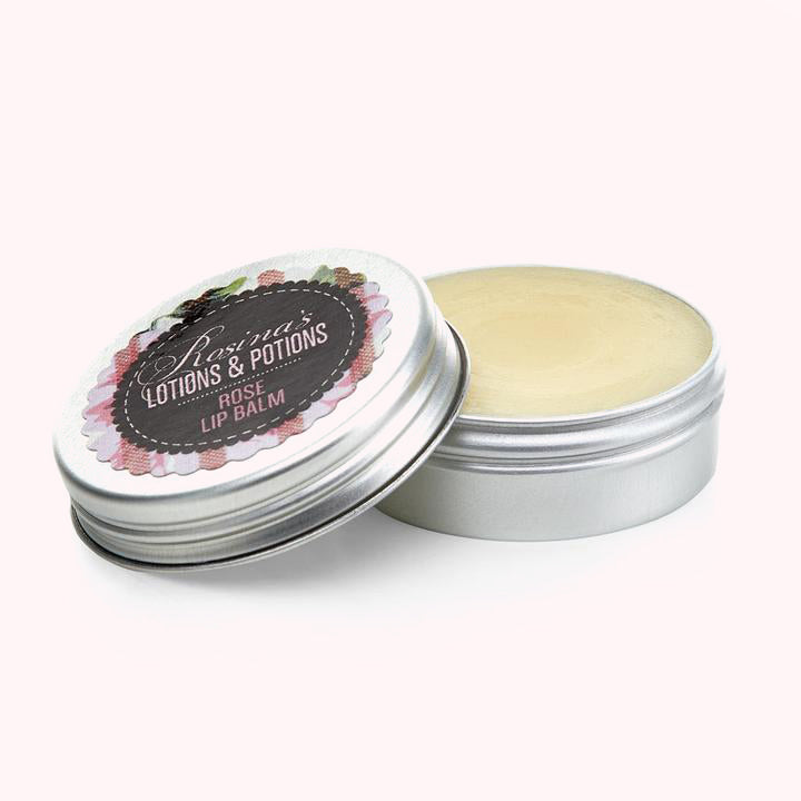 Natural Rose Lip Balm