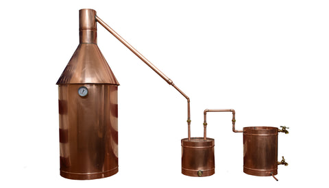 20 Gallon Copper Moonshine / Liquor still Distillation Unit w/ Lifetime Warranty (100% Complete Ready to Use)For sale, Order Now - The Distillery Network - 1