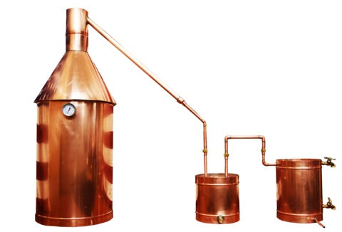 TDN - 10 Gallon Copper Moonshine Still - Complete - The Distillery Network Inc