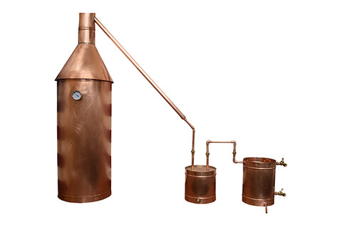 TDN- 25 Gallon Copper Moonshine Still or Liquor Distillation Unit with Lifetime Warranty - The Distillery Network Inc