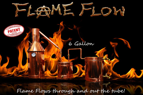 Flame Flow™ 6 Gallon Copper Moonshine Liquor Distillation Unit w/ Lifetime Warranty (100% Complete Ready to Use)For sale, Order Now - The Distillery Network - 1