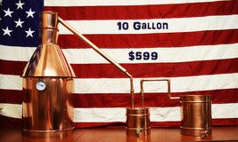 TDN - 10 Gallon Electric Moonshine Still - Heat your moonshine safely
