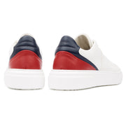 Kea Cime Low Dk Red - Leather Plain - HINSON STUDIOS