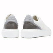 Kea Cime Low White - Leather Plain - HINSON STUDIOS