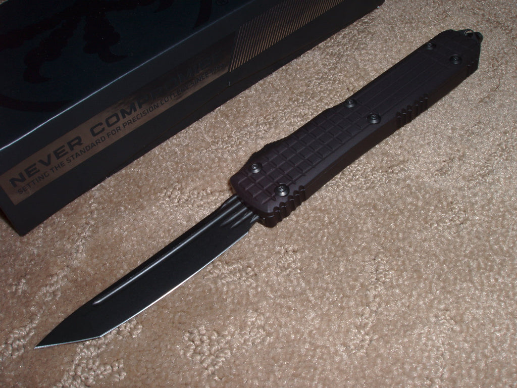 Microtech  MK2 Series Ultratech Delta, T/E, DLC Finish, Frag, OTF Knife   123-1UT-DS