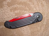 Microtech Knives  LUDT, Sith Lord, Automatic Knife  135-1SL