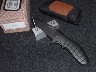 HTM - Kirby Lambert, Snap Assist, Black/Black, Tanto Knife  KLSATDS