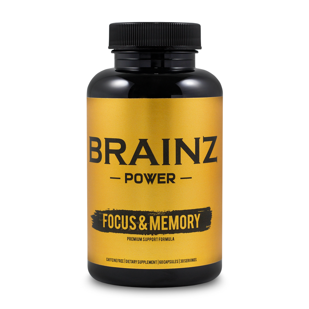Brainz Power Supplement Improve Your Memory Focus And Concentration