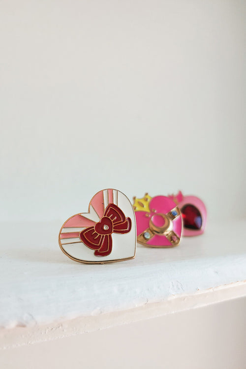 Chibi Moon Lapel Pin Set