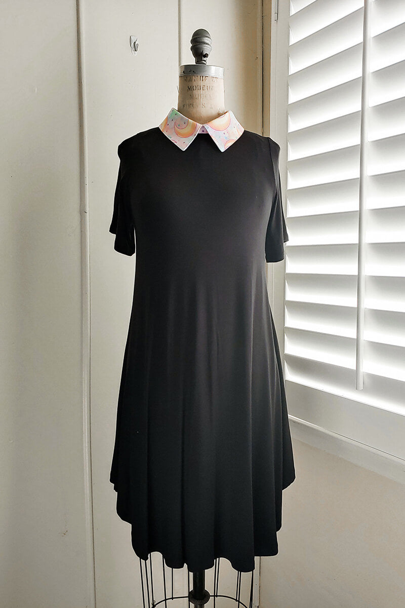 ***PRE-ORDER*** Moon Phase Collar Dress