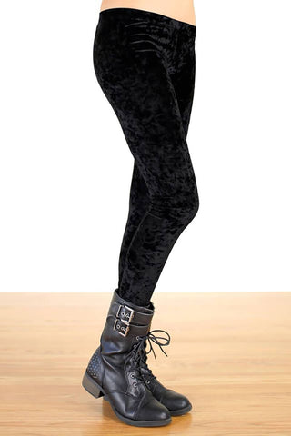 Faux Wrapped Leggings