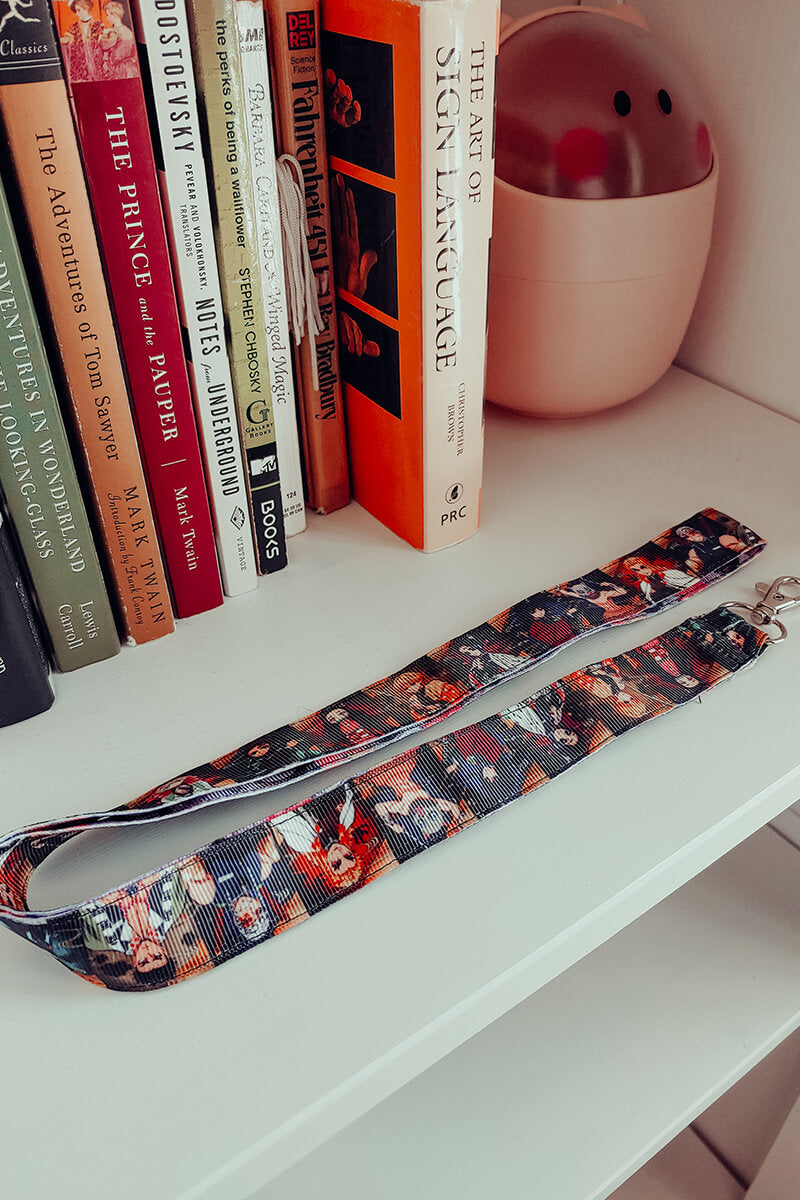 Demon Slayer Reversible Lanyard
