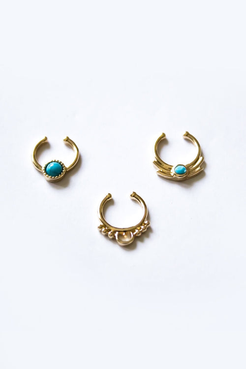 Warrior Princess Faux Septum