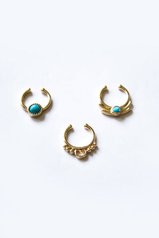 Golden Chemist Ring Set