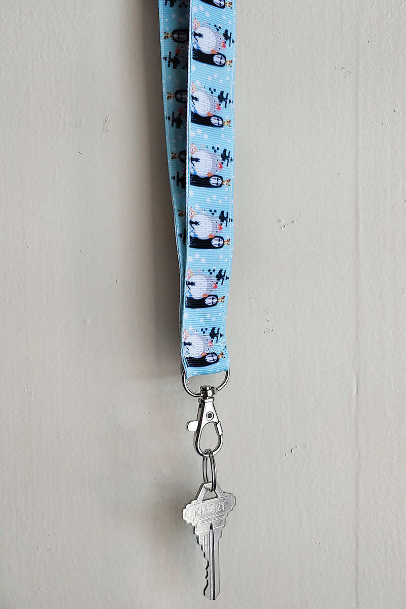 Soot and Friends Reversible Lanyard