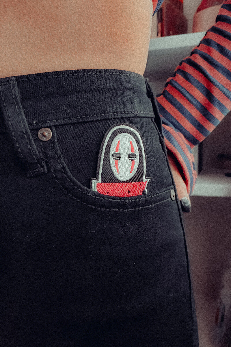 Hungry No Face Skinny Jeans