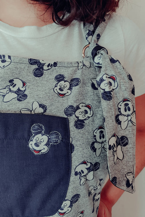 Not So Blue Mickey Overalls