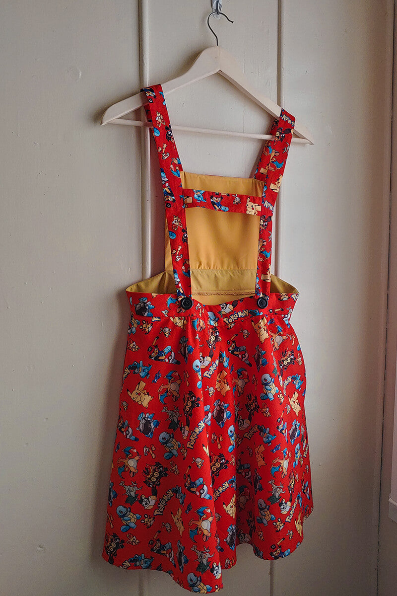 Pikachu and Friends Overall Dress